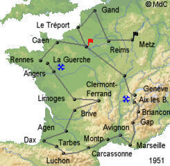 История Тур де Франс/Tour de France 1951