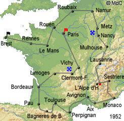 История Тур де Франс/Tour de France 1952