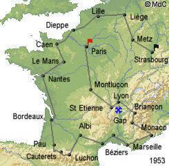 История Тур де Франс/Tour de France 1953