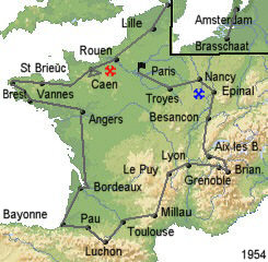 История Тур де Франс/Tour de France 1954