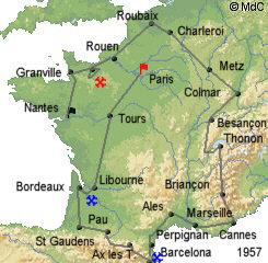 История Тур де Франс/Tour de France 1957