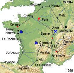 История Тур де Франс/Tour de France 1959