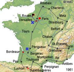 История Тур де Франс/Tour de France 1961