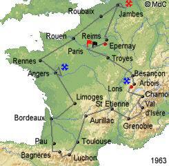 История Тур де Франс/Tour de France 1963