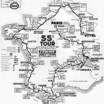 История Тур де Франс/Tour de France 1968