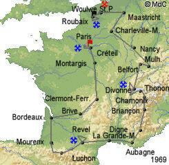История Тур де Франс/Tour de France 1969