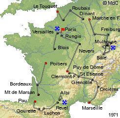 История Тур де Франс/Tour de France 1971