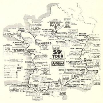 История Тур де Франс/Tour de France 1972