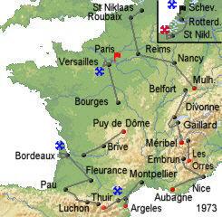 История Тур де Франс/Tour de France 1973