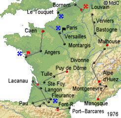 История Тур де Франс/Tour de France 1976