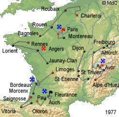 История Тур де Франс/Tour de France 1977