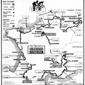 История Тур де Франс/Tour de France 1980