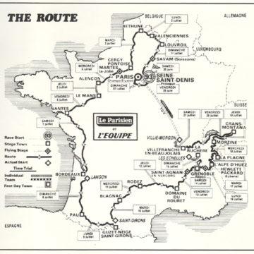 История Тур де Франс/Tour de France 1984