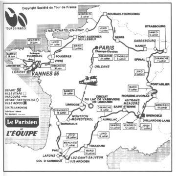 История Тур де Франс/Tour de France 1985