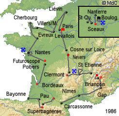 История Тур де Франс/Tour de France 1986