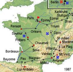 История Тур де Франс/Tour de France 1987