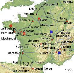 История Тур де Франс/Tour de France 1988