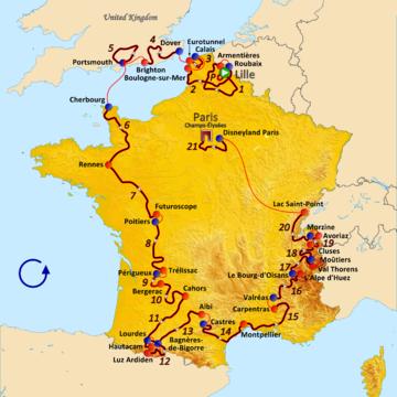 История Тур де Франс/Tour de France 1994