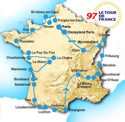 История Тур де Франс/Tour de France 1997