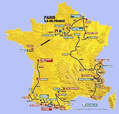 История Тур де Франс/Tour de France 2003