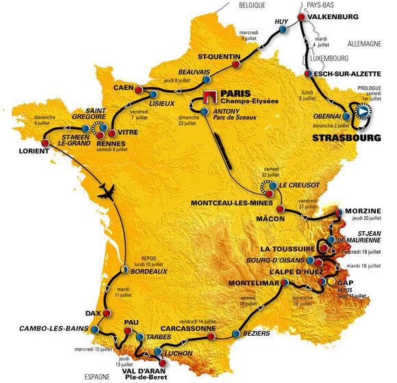История Тур де Франс/Tour de France 2006