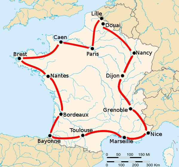 История Тур де Франс/Tour de France 1906