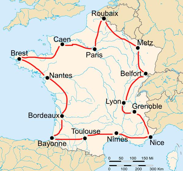 История Тур де Франс/Tour de France 1909