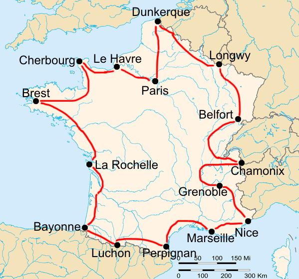 История Тур де Франс/Tour de France 1912