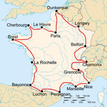 История Тур де Франс/Tour de France 1911