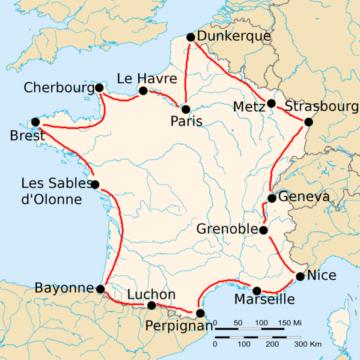 История Тур де Франс/Tour de France 1919