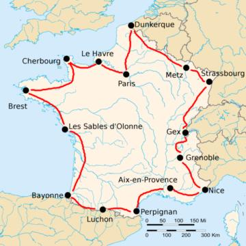 История Тур де Франс/Tour de France 1920
