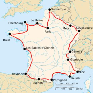 История Тур де Франс/Tour de France 1921