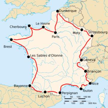 История Тур де Франс/Tour de France 1923