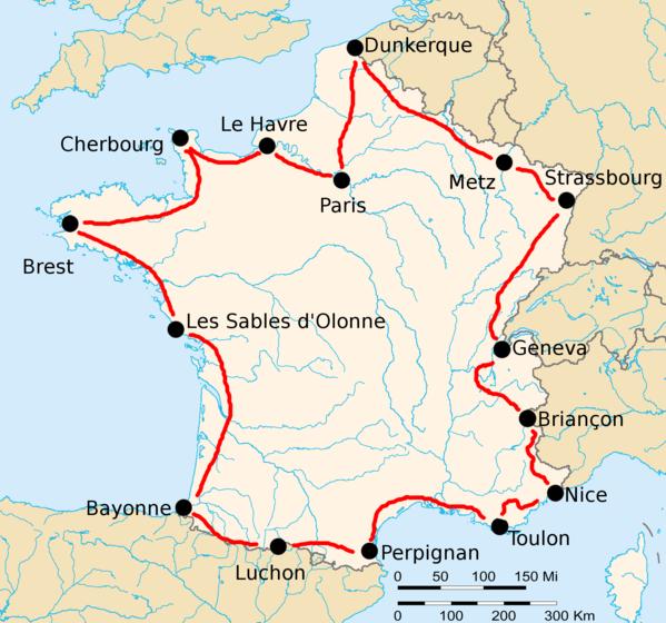 История Тур де Франс/Tour de France 1922