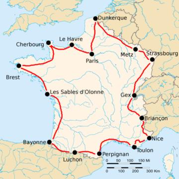 История Тур де Франс/Tour de France 1924