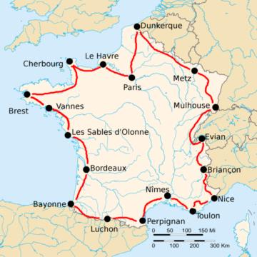 История Тур де Франс/Tour de France 1925