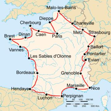 История Тур де Франс/Tour de France 1928