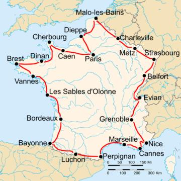 История Тур де Франс/Tour de France 1929