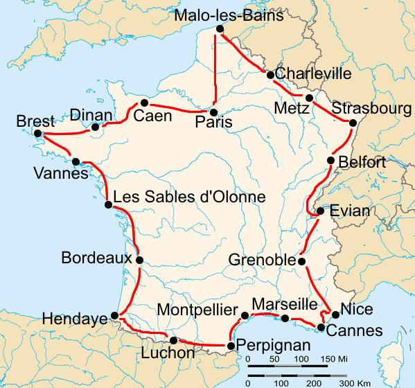История Тур де Франс/Tour de France 1930