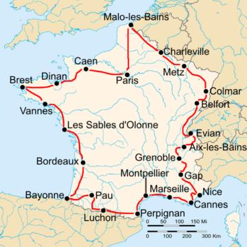 История Тур де Франс/Tour de France 1931
