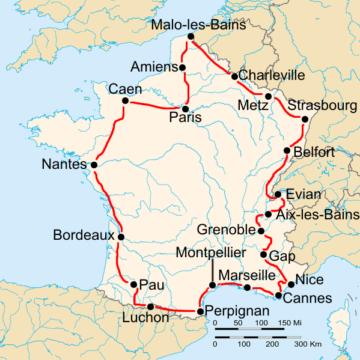 История Тур де Франс/Tour de France 1932