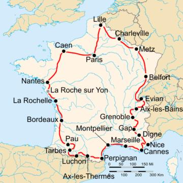 История Тур де Франс/Tour de France 1934