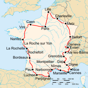История Тур де Франс/Tour de France 1935