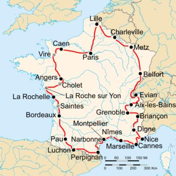 История Тур де Франс/Tour de France 1936