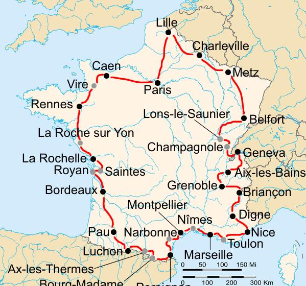 История Тур де Франс/Tour de France 1937