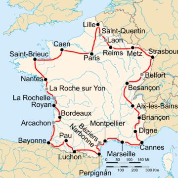 История Тур де Франс/Tour de France 1938