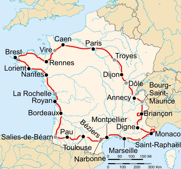 История Тур де Франс/Tour de France 1939