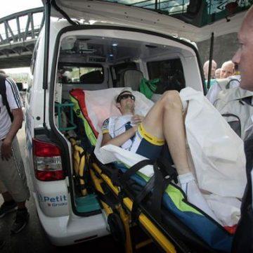 Воут Польс сломал 3 ребра на Тур де Франс/Tour de France 2012