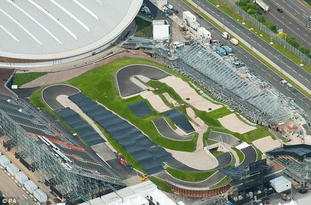 Олимпийские игры/Olympic Games 2012 БМХ день 1