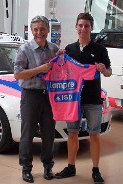 Никколо Бонифацио подписал контракт с Lampre-ISD